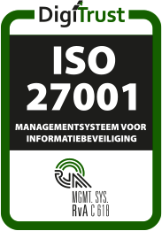 DigiTrust ISO 27001 logo