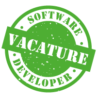 Vacature Software Developer